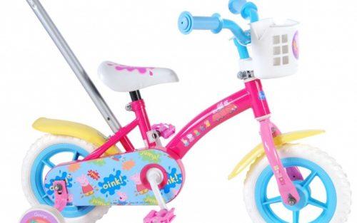 Nickelodeon - Duwfiets 10 Inch 18 Cm Meisjes Doortrapper Roze