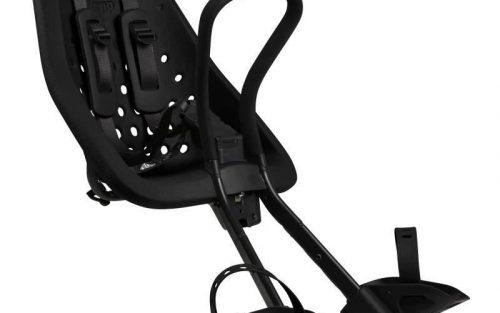Original Mini Voorzitje Zwart Fietsstoeltje