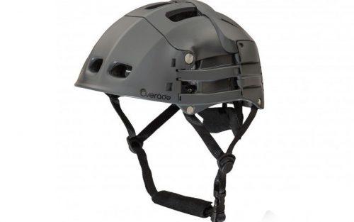 Overade Plixi opvouwbare Helm - Grijs