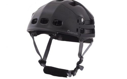 Overade Plixi opvouwbare Helm - Zwart