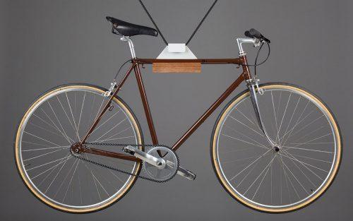Pendant fietsenrek - Grijs