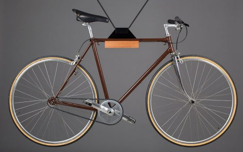 Pendant fietsenrek - Zwart