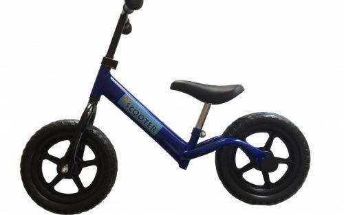 Pexkids - Kinder Scooter Loopfiets 12 Inch Jongens Blauw