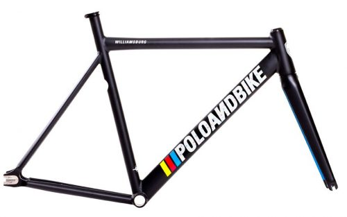 Polo and Bike Williamsburg New Gen Frameset Zwart