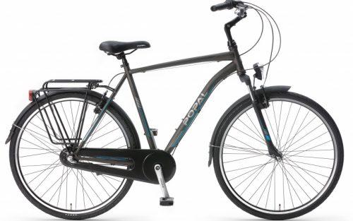 Popal - Cityflex 28 Inch 50 Cm Heren 3v V-brakes Grijs