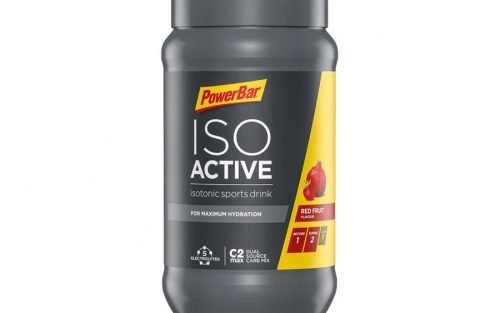 Powerbar IsoActive Isotonic Sportdrank 600g - Red Fruit Punch