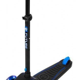 Qplay - Kinderstep Future Junior Voetrem Zwart/blauw
