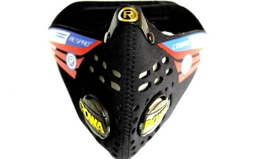 Respro Cinqro Masker - Zwart