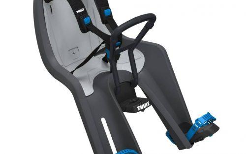RideAlong Mini Voor Fietsstoeltje Donker Grijs