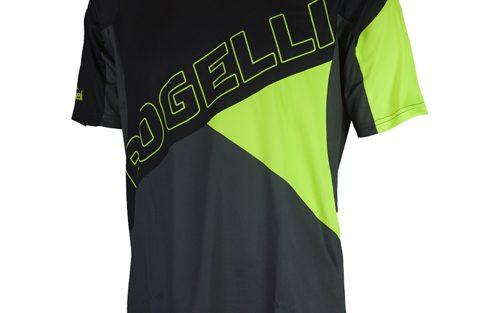 Rogelli Adventure MTB wielershirt zwart / grijs / fluor