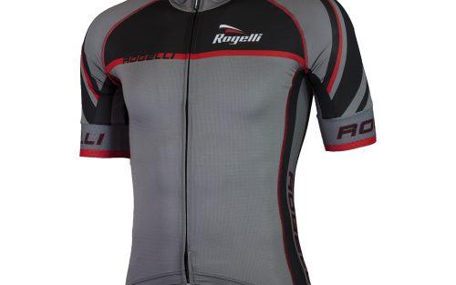 Rogelli Andrano2.0 KM wielershirt grijs / zwart / rood