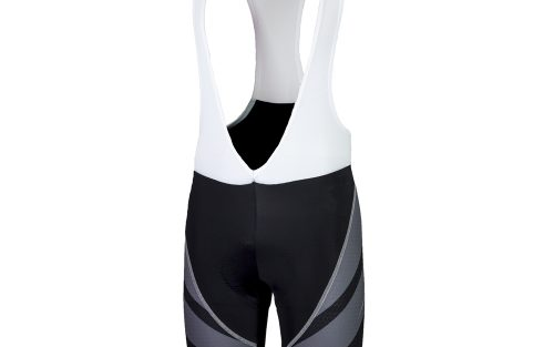 Rogelli Bret Andrano2.0 wielerbroek zwart / grijs / wit