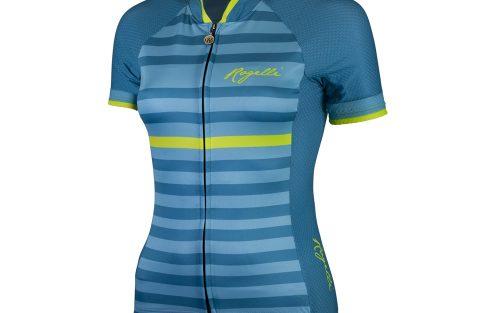 Rogelli Ispira KM wielershirt blauw / geel