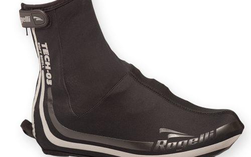 Rogelli Tech-03 overschoenen zwart