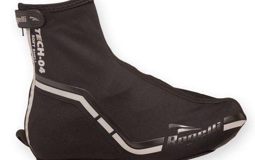Rogelli Tech-04 overschoenen Softshell zwart