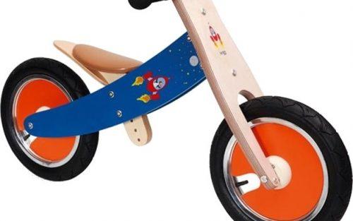 Scratch - Balance Bike 12 Inch Junior Rood/blauw