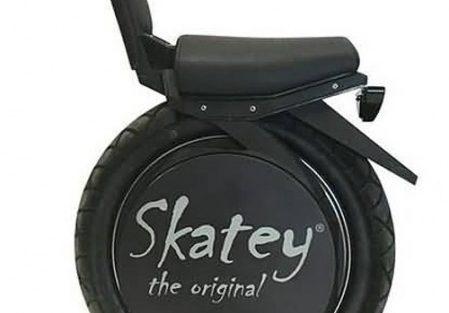 Skatey - Balance Bike Unisex Zwart