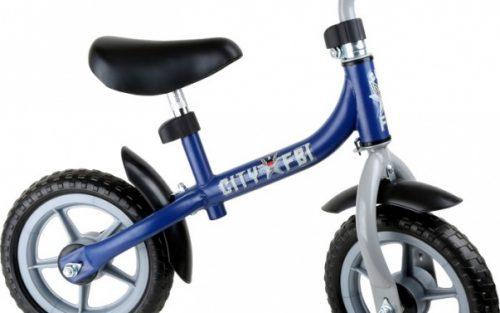 Small Foot - Loopfiets City Scooter Jongens Blauw