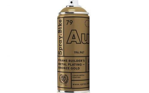 Spray.Bike Metal Plating - Bronsgoud