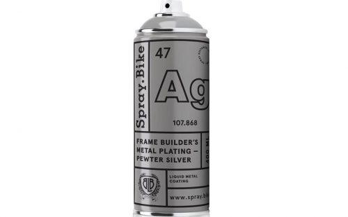 Spray.Bike Metal Plating - Tin Zilver