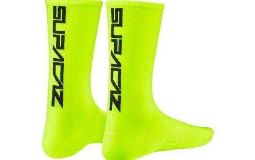 Supacaz Supasox Straight Up Sokken - Geel/Zwart
