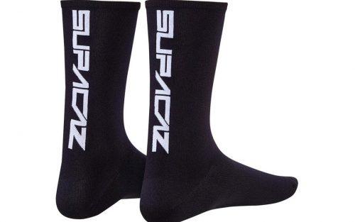 Supacaz Supasox Straight Up Sokken - Zwart/Wit