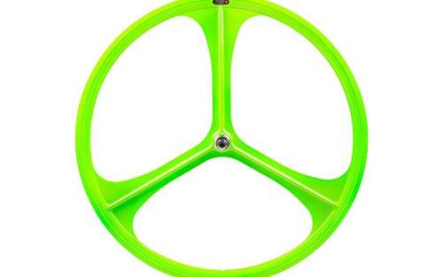 Teny Rim Tri Spoke Voorwiel - Groen