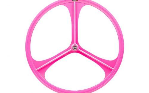 Teny Rim Tri Spoke Voorwiel - Roze