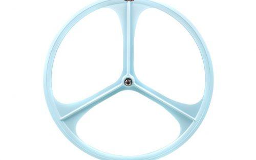 Teny Rim Tri Spoke Voorwiel - Sky Blue