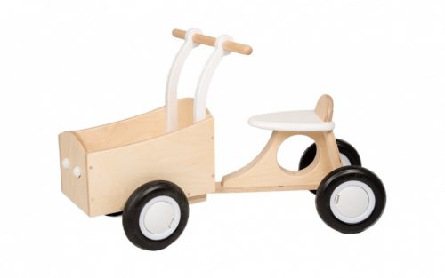 Van Dijk Toys - Loop-bakfiets Junior Wit