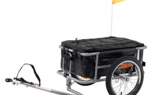 Vantly - Aanhangwagen 16 Inch Unisex Zwart