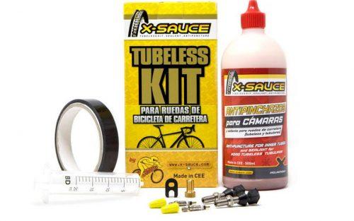 X-Sauce Tubeless Kit voor 2 Racewielen - Presta