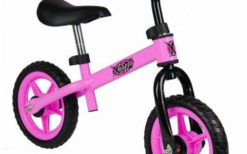 Xootz - 2-wiel Kinderstep Balance Junior Roze