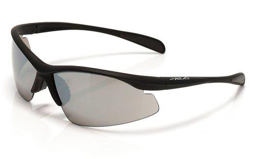 Zonnebril XLC SG-C05 Malediven Mat Zwart Rookkleurig Glazen