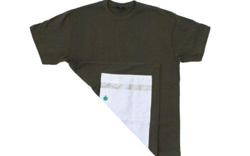 milana:: Wielershirt - Groen/Wit