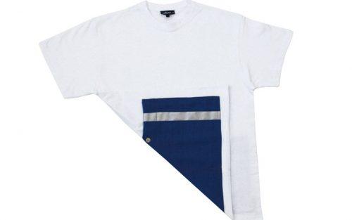 milana:: Wielershirt - Wit/Blauw