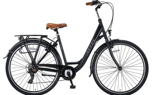 Altec Travel 28 inch Damesfiets 50cm Zwart 7v