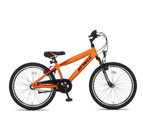 Altec Attack Jongensfiets 24 inch 3v Neon Orange