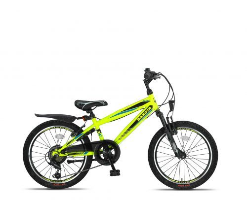 Altec Dakota 20inch Jongensfiets 7speed Neon Lime