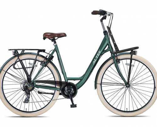 Altec Metro Plus Damesfiets 28 inch 55cm Army Green 7v