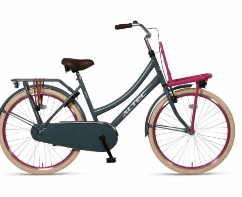 Altec Urban Transportfiets 24 inch Gray/Pink