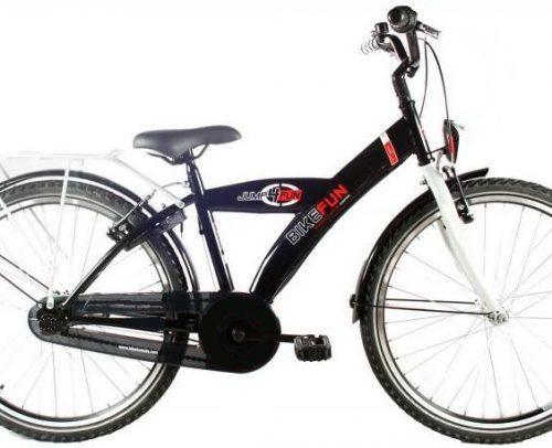 Bike Fun - City 24 Inch 36 Cm Jongens V-brakes Zwart