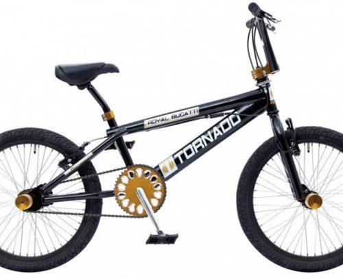 Bike Fun - Tornado 20 Inch 55 Cm Unisex V-brakes Zwart