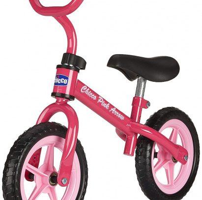 Chicco - Pink Arrow Loopfiets 10 Inch Meisjes Roze
