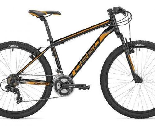 Deed - Hoop 26 Inch 40 Cm Heren 21v V-brakes Zwart/oranje