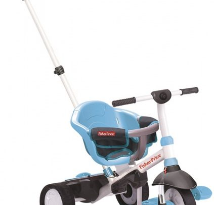 Fisher-price - 3-in-1-driewieler Charm Junior Blauw/wit