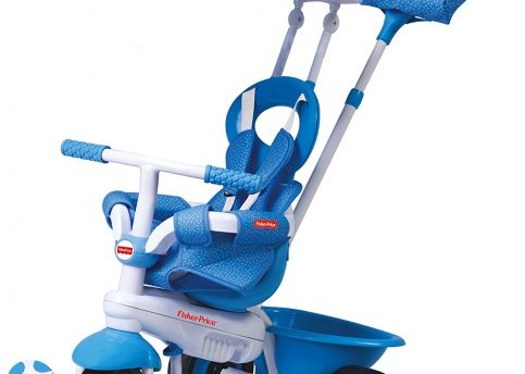 Fisher-price - 3-in-1-driewieler Elite Junior Wit/blauw
