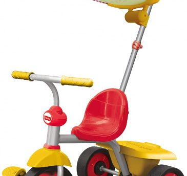 Fisher-price - Driewieler Glee Plus Junior Grijs/geel