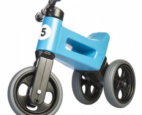 Funny Wheels - Rider Sport Cool Loopfiets Junior Blauw