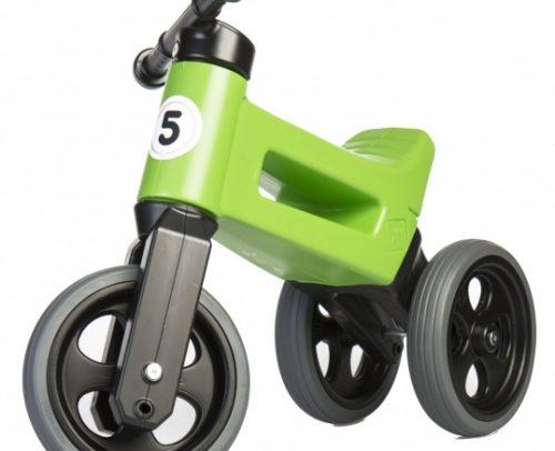 Funny Wheels - Rider Sport Cool Loopfiets Junior Groen